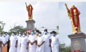 மறைந்த முதலமைச்சர் ஜெயலலிதாவிற்கு முழு உருவச்சிலை.. முதல்வர் திறந்து வைத்து மரியாதை!