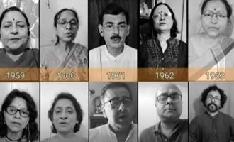 'ஜன கன மன' பாடிய 72 பேர்களுக்கு இருக்கும் ஆச்சரிய ஒற்றுமை: வைரல் வீடியோ