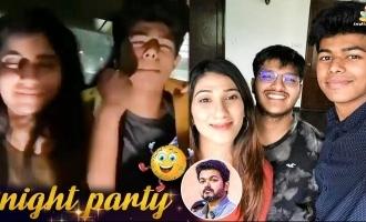 Thalapathy Vijay's son Jason Sanjay's night party dance videos go viral