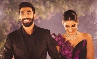 Jasprit Bumrah's romantic photos with Sanjana Ganesan turn viral!