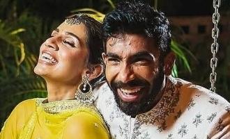 Video of Jasprit Bumrah dancing with wife Sanjana goes viral