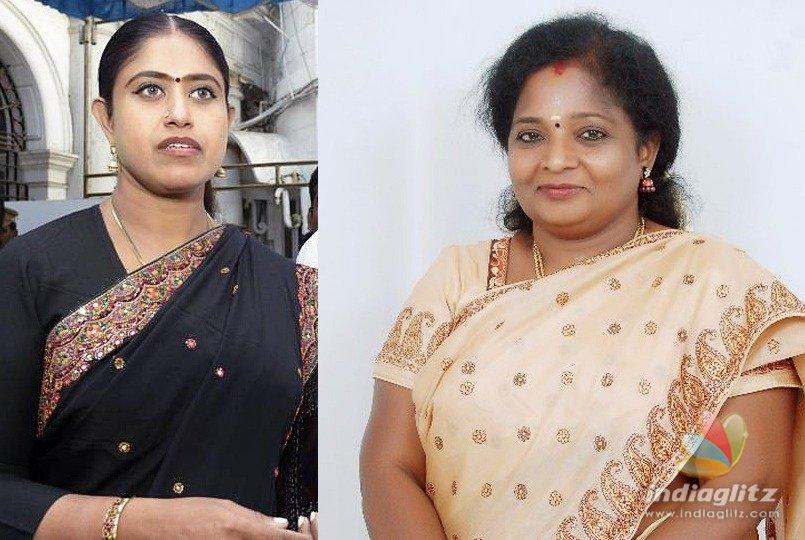 Tamilisai, Vijayadharani welcome inauguration of Jaya's portrait in Assembly