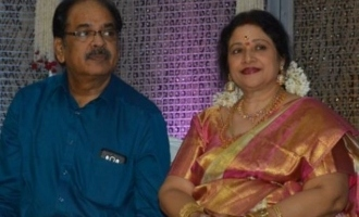 Veteran actress Jayachithra's husband Ganesh passes away