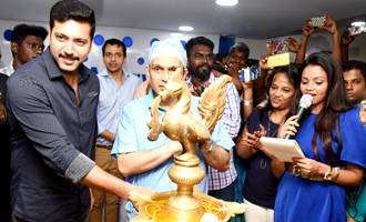 Jayam Ravi Inaugurated the All New State-Of-The-Art Centre