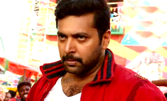 Jayam Ravi injured  in a risky fight scene