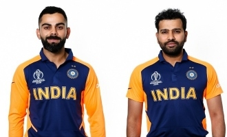 Orange is the New Blue for Team India