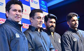 Tamil Thalaivaas new Jersey launched with Kamal Haasan Sachin Tendulkar