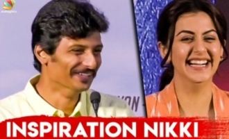 Why Nikki Galrani Is My Inspiration? : Jiiva Speech