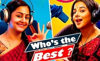 Who's the Best - Jyothika or Vidya Balan ? : Tumhari Sulu Twin Sisters Interview