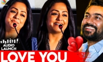 Jyothika gives shock to Suriya