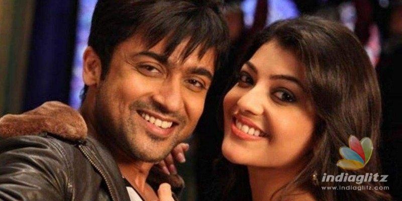 Suriya and Kajal Aggarwal reunite for new movie?
