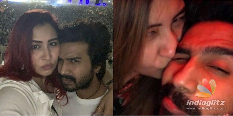 Vishnu Vishals girlfriend shares intimate New Year video and photo