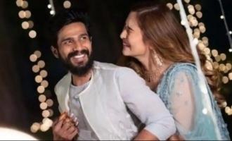 Jwala Gutta shares first throwback kiss moment with Vishnu Vishal