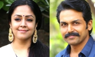 Relationship between Karthi and Jyothika in new movie revealed