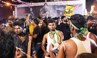 'Kaala' Celebration in Rohini Theatre