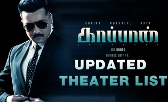 'Kaappaan' USA Schedule and Theater list