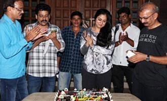 Jyothika wraps up 'Kaatrin Mozhi' filming