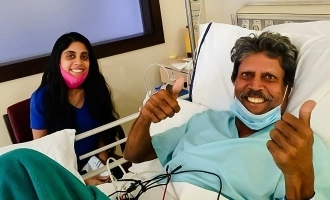 Kapil Dev  photo of recovering from angioplasty goes viral