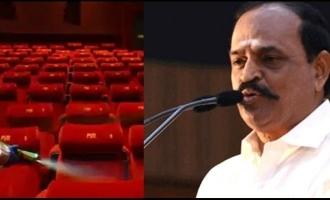 when cinema theaters opening in Tamil Nadu Minister Kadambu Raju replies