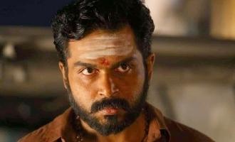 Action hero praises Karthi's Kaithi!