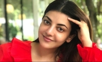 Kajal Aggarwal teases about her getup in 'Indian 2'