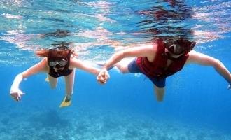 Kajal Aggarwal's deep sea diving adventure with Gautam Kitchlu!