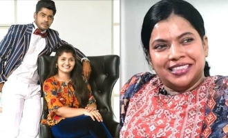 Kajal Pasupathi show her support for sandy wife