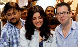 Kajal Aggarwal inaugurates Gap Store at Phoenix Mall