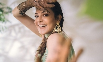 Kajal Aggarwal's lovely pre-wedding ceremony photo wins hearts!