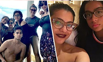 Kajol in Maldives with family for Vacation
