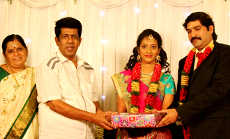 Producer Kalaignanam Grandson Jayakumar Wedding Reception
