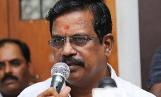 Kalaipuli S Thanu makes donation to the CM relief funds along with a heartfelt letter