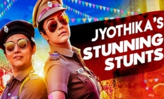 Jackpot Making : 'Jyothika Jumped from Dam ' : Director Kalyaan Interview