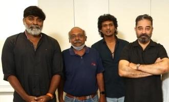 Kamal-Vijay Sethupathi clash on the first day itself? - Check Vikram shooting stills