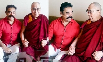 Kamal Haasan's lovely wishes to Dalai Lama!
