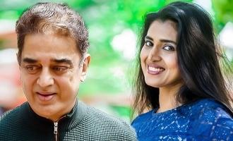 Kasthuri's sharp question to Kamal Haasan!