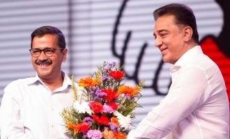 Kamal Haasan lauds Arvind Kejriwal and gives open challenge