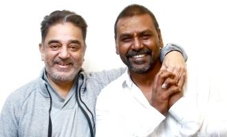 சர்ச்சை கருத்துக்குப்பின் கமலஹாசனை சந்தித்த ராகவா லாரன்ஸ்