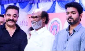 SAC requests Kamal and Rajini to give way for Vijay in politics
