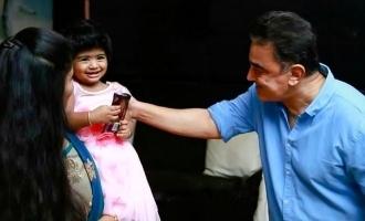 கமல்ஹாசனை குடும்பத்துடன் சந்தித்த பிக்பாஸ் போட்டியாளர்!