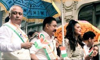 Kamal Haasan as Grand Marshal at India Day Parade