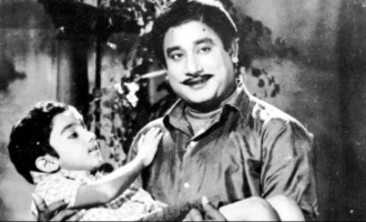 Kamal posts rare photo with Sivaji Ganesan paying rich tribute on his death anniversary