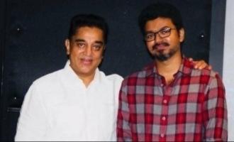 Kamal Haasan's hearty birthday wish to Thalapathy Vijay floors fans