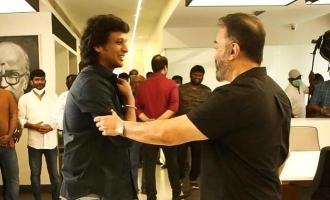 Lokesh Kanagaraj's heartwarming thanks note to Kamal Haasan!