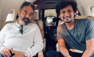 Girish Gangadharan is the cameraman of Kamal in Vikram movie