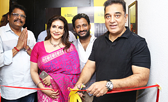 Kamal Haasan Inaugurates New Dubbing Studio at Le Magic Lantern