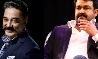 """""""Long live younger brother!"""" - Kamal's wishes to Mohanlal!"""