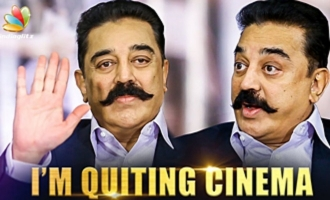 I'm Quiting Cinema : Kamal Hassan Interview