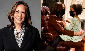 democratic vice presidential nominee kamala harris tells grand niece you could be president video joe biden us election
