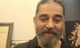 Kamal Haasan's virtual 'Kattipudi Vaidhyam' to cancer stricken fan - Heart melting video